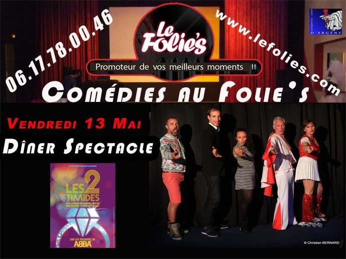 2 Timides au Folie's pm