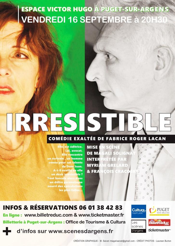 Affiche Irresistible - 300DPI