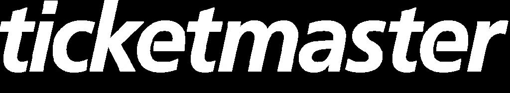 ticketmaster logo blanc